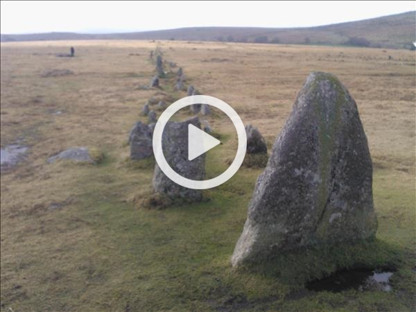 Megalithic Dartmoor. Stone Rows and Standing Stones